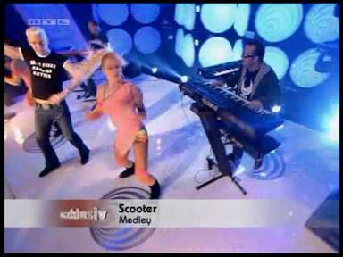Scooter at TOTP